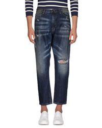 Michael Coal Blue Denim Pants for men