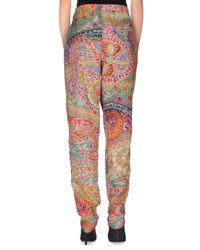 Jijil Gray Casual Pants