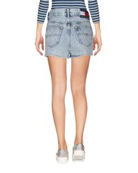 Shorts jeans di Tommy Hilfiger in Blue