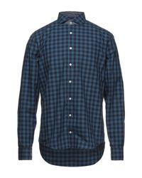 Camicia di Tommy Hilfiger in Blue da Uomo