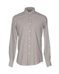 Hamptons - Natural Shirt for Men - Lyst
