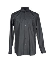 Comme des Garçons Gray Shirt for men