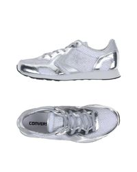 Converse CONS - Metallic Low-tops & Sneakers - Lyst