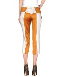 Collection Privée Brown ? 3/4-length Trousers