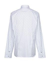 Chemise Patrizia Pepe pour homme en coloris White