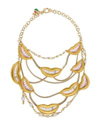 Sveva Collection - Yellow Necklaces - Lyst
