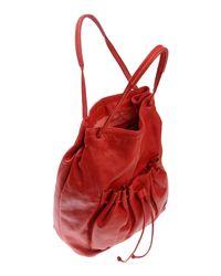 Caterina Lucchi Red Handbag