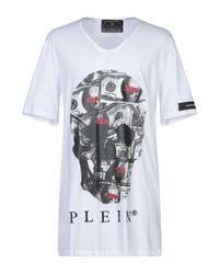 T-shirt Philipp Plein pour homme en coloris White