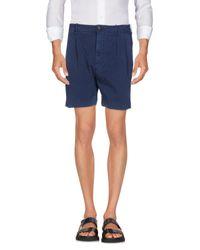 Shorts di Pence in Blue da Uomo