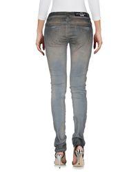 MNML Couture Gray Denim Pants