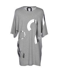 N°21 Gray T-shirt for men