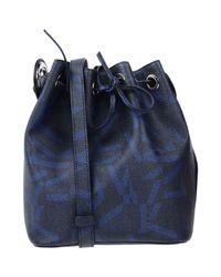 Jil Sander Navy Blue Cross-body Bag