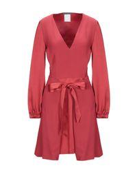Robe courte Alberta Ferretti en coloris Red