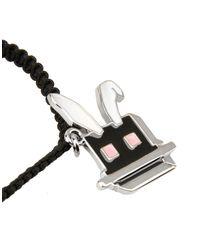 McQ Alexander McQueen - Black Bracelet - Lyst
