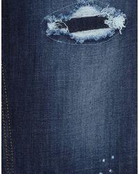 Pantalones vaqueros Elisabetta Franchi de color Blue