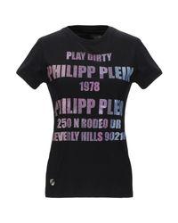 Philipp Plein Black T-shirts