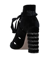 Le Silla Black Ankle Boots