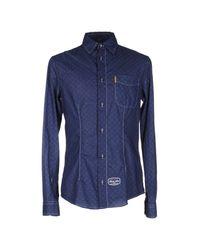 Armani Jeans - Blue Shirt for Men - Lyst