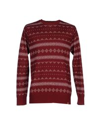 Obey Blue Jumper for men