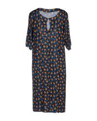 Siyu Blue Short Dress