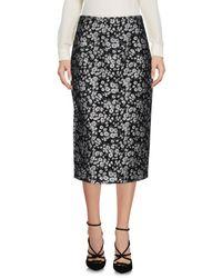 Michael Kors Black 3/4 Length Skirt
