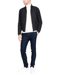 Armani - Black Down Jacket for Men - Lyst