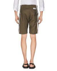 Saucony Green Bermuda Shorts for men