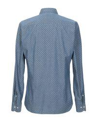 Camisa B.D. Baggies de hombre de color Blue