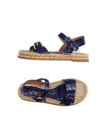 Paloma Barceló - Blue Sandals - Lyst