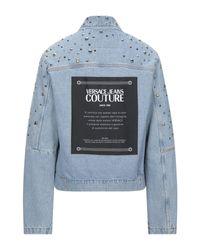 Versace Jeans Blue Denim Outerwear for men