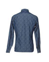 Tintoria Mattei 954 - Blue Shirt for Men - Lyst