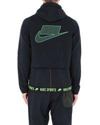 Giubbotto di Nike in Black da Uomo