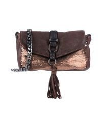 Caterina Lucchi Brown Cross-body Bag