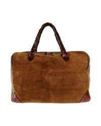 Golden Goose Deluxe Brand Reisetasche in Brown für Herren