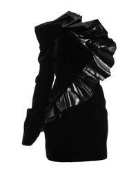 Minivestido Saint Laurent de color Black