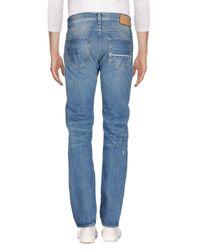 Care Label Blue Denim Trousers for men