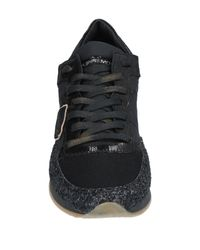 Sneakers & Tennis basses Philippe Model en coloris Black