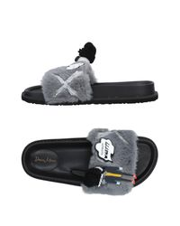3ee11f033 Doriamaria Sandals in Gray - Lyst