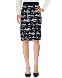 Sonia Rykiel Blue Knee Length Skirt