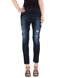 Pantalon en jean Space Style Concept en coloris Blue