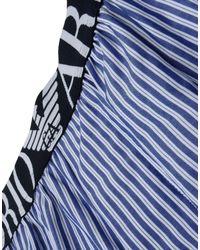 Emporio Armani - Blue Sleepwear for Men - Lyst
