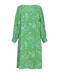 Minivestido Essentiel Antwerp de color Green