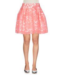 Minigonna di P.A.R.O.S.H. in Pink