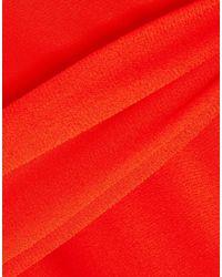 J.Crew Red Knielanges Kleid