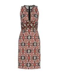 Roberto Cavalli Red Knee-length Dress