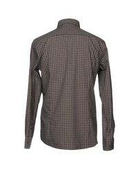 BOSS Black Gray Shirt for men
