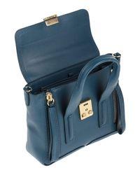 3.1 Phillip Lim Blue Handtaschen