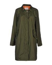 Aspesi Green Overcoat