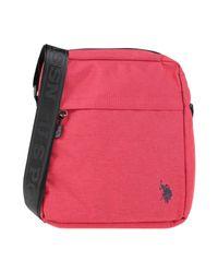 U.S. POLO ASSN. Red Shoulder Bag