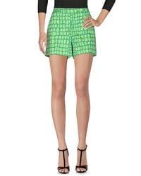 Boutique Moschino Green Shorts